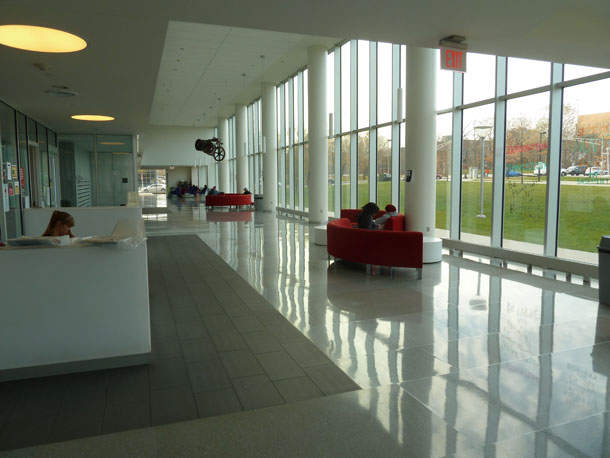 Living on earth power shift northeastern university cited as america s greenest college for Certified interior decorators international