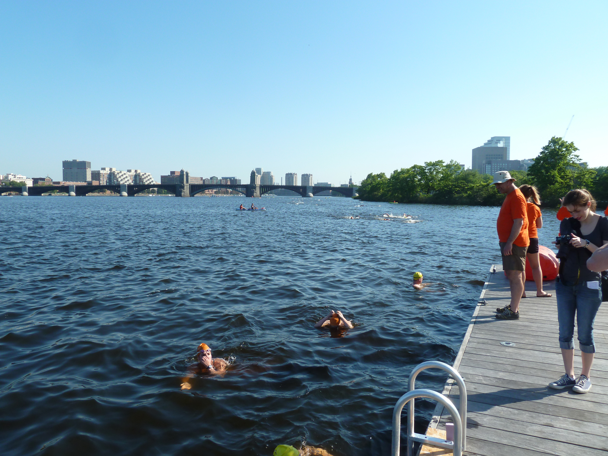 Living on Earth: Love That Dirty Water, Swimming in Boston's Charles