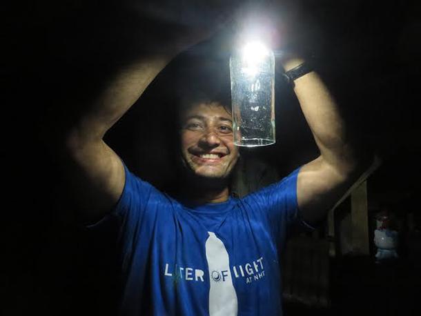 Living On Earth Liter Of Light