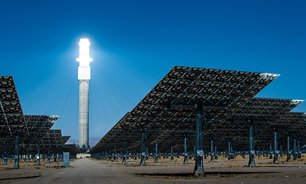 Living On Earth Saving Solar Energy With Salt