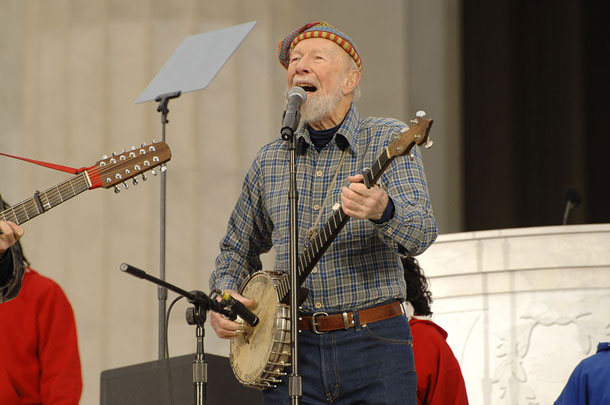 Living on Earth: An Afternoon with Pete Seeger