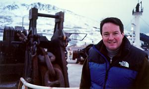 Photo: Terry Fitzpatrick aboard ARCO Alaska